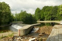 Weir-Otava River-Susice